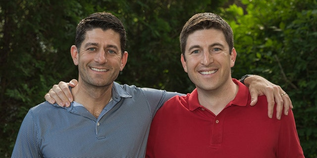 Bryan Steil (right) hopes to replace his boss, House Speaker Paul Ryan (left), in Congress.