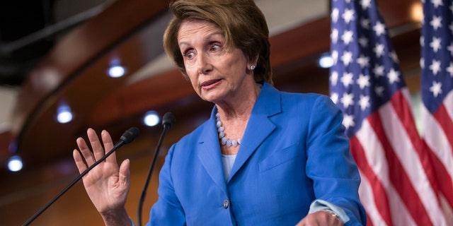 House Minority Leader Nancy Pelosi, D-Calif., on Sept. 19, 2013.