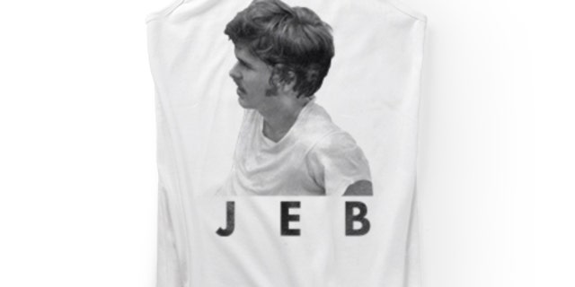 Bush's campaign store is also selling a vintage tank top ($20).