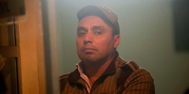 Former Guatemalan Army Captain Byron Lima Oliva in a Feb. 15, 2012.