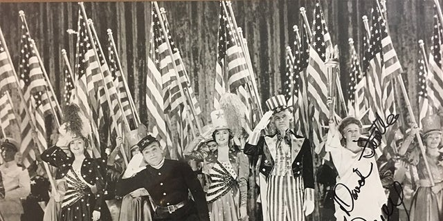 """James Cagney in 1942's """"Yankee Doodle Dandy."""""""