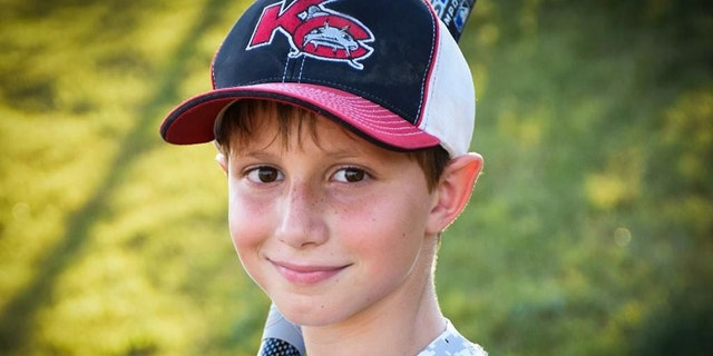 Caleb Schwab, 10,  died over a year ago while riding the 17-story Verruckt water slide in  Kansas City, Kansas.
