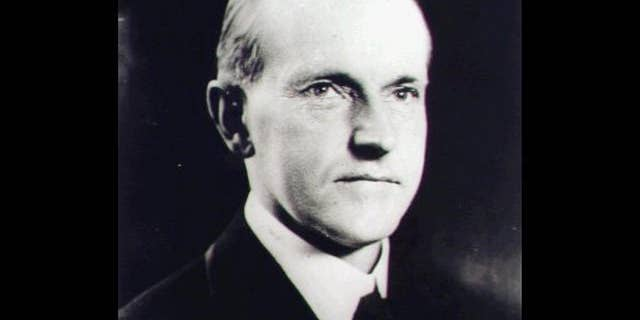 President Calvin Coolidge was known as 'Silent Cal.' (Associated Press)
