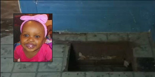 Toddler Camaya Davis drowned after falling through a hole in the floor of her family's home in Detroit.