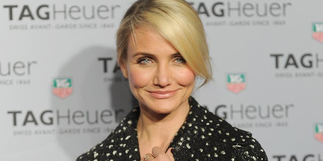 Cameron Diaz attends the TAG Heuer store opening in New York City in 2014.