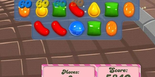 Game on: Candy Crush Saga hits the half a billion download mark. Still a way off Angry Birds and its two billion.