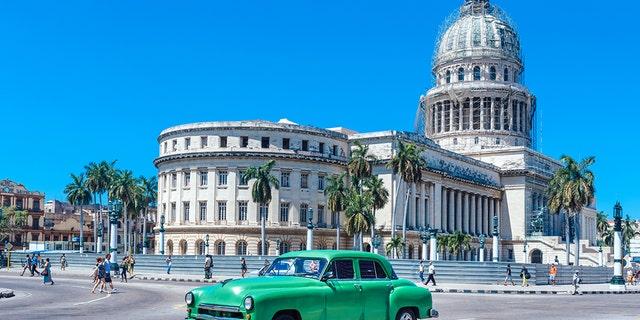 FILE -- Cuba's Capitol, or El Capitolio, in Havana.