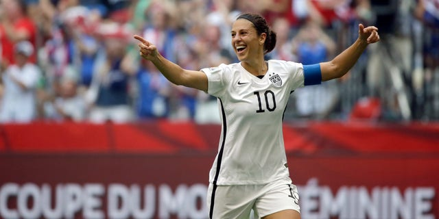 Carli Lloyd, a star on the U.S. women's national soccer team, is among the players on Phil Murphy's sad-sack Sky Blue FC club.