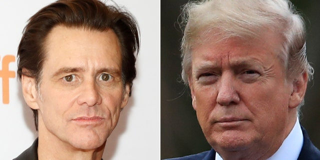 Actor Jim Carrey sparked new outrage Monday after unveiling a new portrait — showing President Trump.