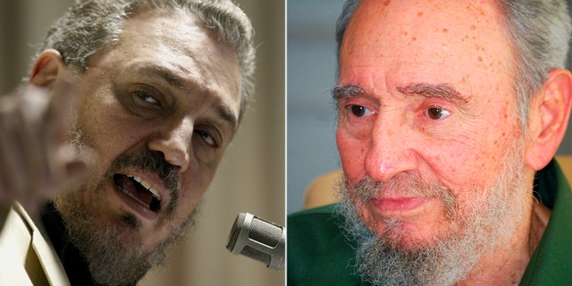 Fidel Castro Diaz-Balart, left, the oldest son of dictator Fidel Castro, killed himself, according to Cuban state media.