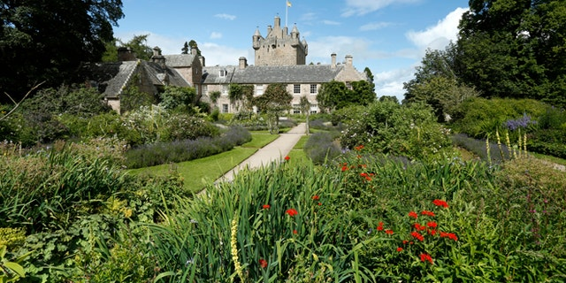 Cawdor Castle and Gardens near Nairn, Highlands of Scotland.