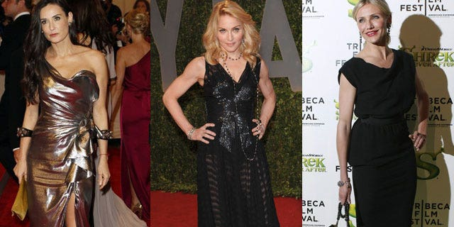 Demi Moore, Madonna and Cameron Diaz all weigh in on relationships in a new advice book.