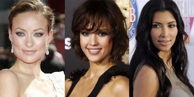 Did Olivia Wilde, Jessica Alba and Kim Kardashian practice what they preached?