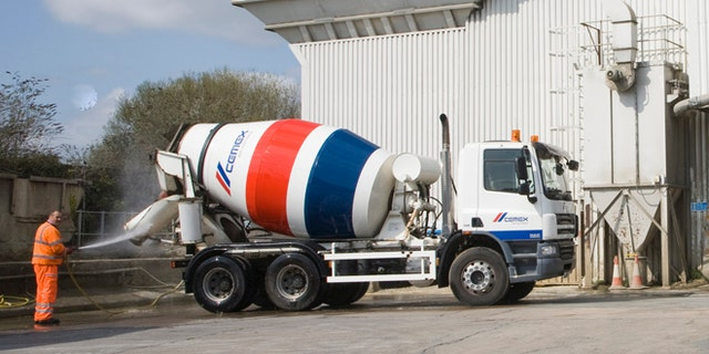 Cemex ready mix concrete plant, Ipswich, Suffolk, England (Photo by: Geography Photos/Universal Images Group via Getty Images)