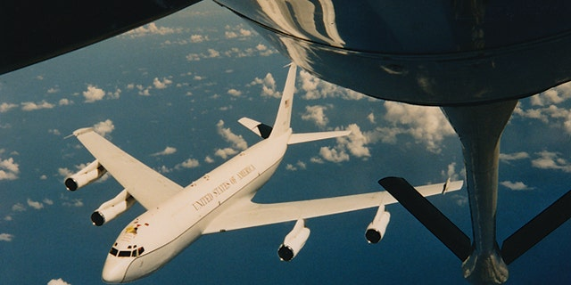 This undated photo shows the Boeing 707 in action.