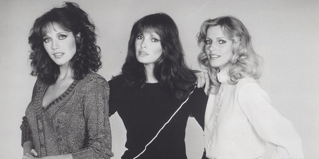 """Cheryl Ladd, far right, pictured here while on """"Charlie's Angels."""""""