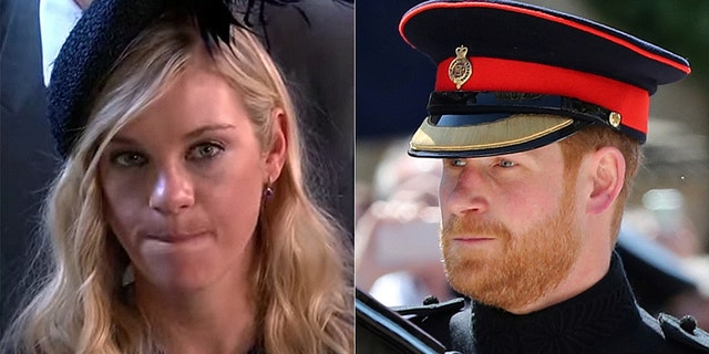 Cressida Bonas allegedly had a tearful phone call with her ex-boyfriend, Britain's Prince Harry, before he married American actress Meghan Markle.