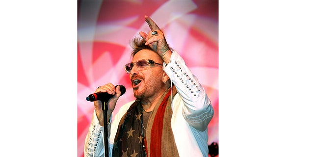 Chuck Negron performing today.
