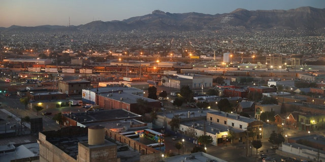 EL PASO, TX - OCTOBER 14:  Ciudad Juarez is seen from the Texas side of the U.S.-Mexico border early on October 14, 2016 in El Paso, Texas. The Rio Grande serves as the border between the two countries and through much of West Texas there is no additional fencing.  (Photo by John Moore/Getty Images)