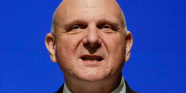 Nov. 19, 2013: This file photo shows then Microsoft CEO Steve Ballmer during the company's annual shareholders meeting in Bellevue, Wash. (AP)