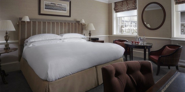 The stunning hotel is rich in amenities for its guests.