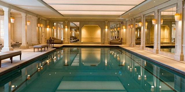 Guests can truly unwind at the Cliveden Spa's pools and hot tubs - both indoors and out.