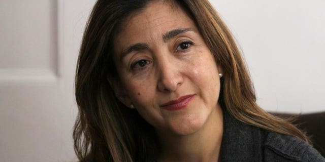 Former Colombian rebel hostage Ingrid Betancourt during an interview in New York, on Sept. 21, 2010.