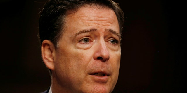 """President Trump blasted former FBI Director James Comey as a """"liar"""" and a """"leaker,"""" suggesting he is """"guilty of crimes."""""""