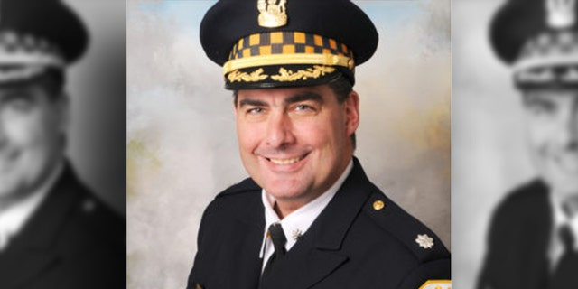 Chicago police Commander Paul Bauer was shot multiple times when he was slain Feb. 13 while pursuing a suspect.