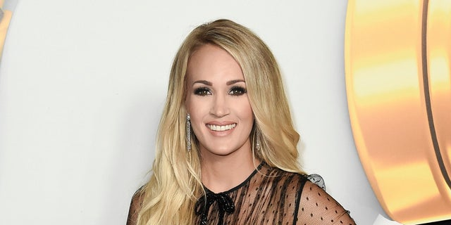 Carrie Underwood attends the 2018 Radio Disney Music Awards in Los Angeles.