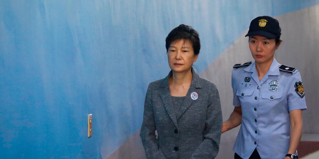 South Korea's former President Park Geun-hye is facing a verdict in her corruption case.