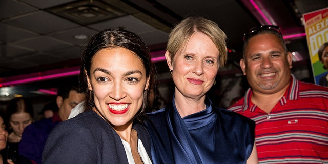 New Yorkers Alexandria Ocasio-Cortez and Cynthia Nixon have emerged as popular democratic socialists running the 2018 midterm elections.