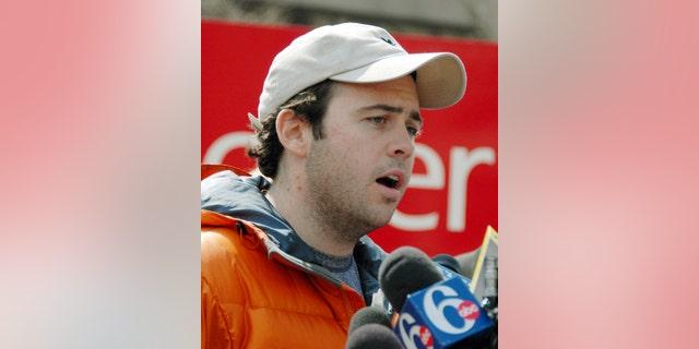 File photo of N.J. Gov. Jon S. Corzine's son Jeffrey, on April 13, 2007.