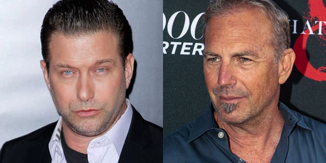 Stephen Baldwin is suing Kevin Costner (right)