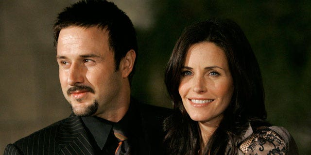 FILE: David Arquette and Courteney Cox issued a statement Oct. 11 saying they are in the middle of a 'trial separation.'
