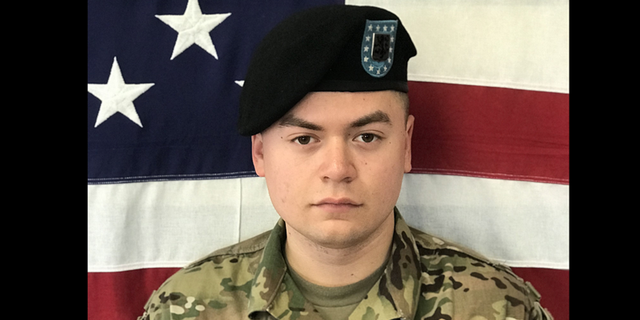 """Cpl. Joseph Maciel, of California, was killed Saturday during an """"apparent insider attack."""""""