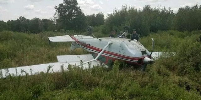 """""""The flipping [of the plane] was me running out of runway. I was coming in too fast due to difficulties with my engine, the flaps, and various plane issues."""""""