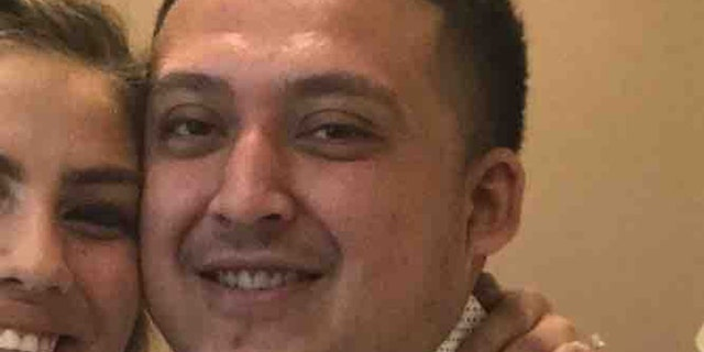 "A GoFundMe page set up for Christopher Lopez's family says that Lopez died after the boulder broke his jaw and ""all his chest bones."""
