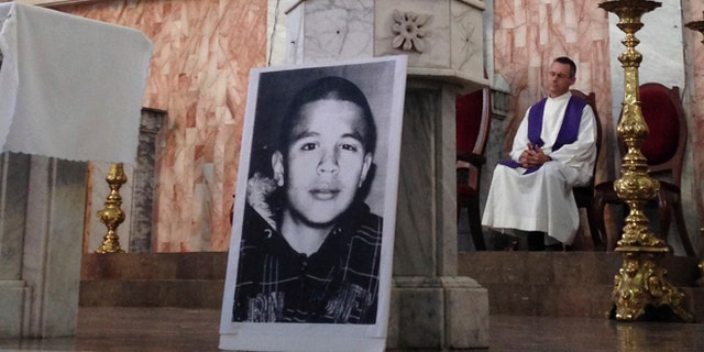 Jose Antonio Elena Rodriguez, seen in the picture, was killed in 2012. (AP Photo/Valeria Fernandez, File)