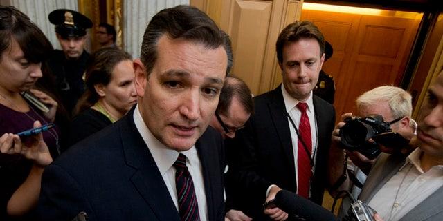 July 26, 2015: Sen. Ted Cruz, R-Texas, on Capitol Hill, in Washington, D.C.