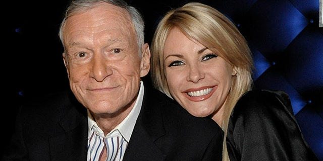 Harris married Hefner after originally backing out of the wedding.