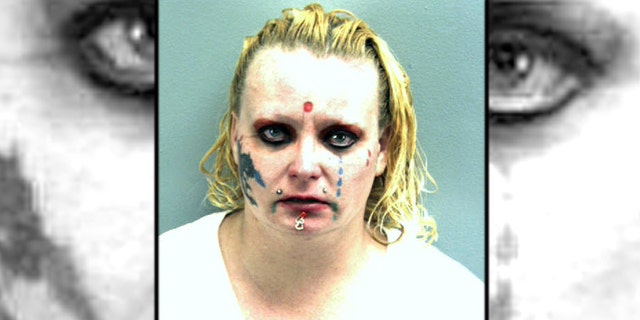 Crystal Mostek, 33, was charged with threatening to bomb or damage buildings and possession of a hoax explosive device after reportedly threatening to blow up a 7-Eleven.