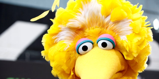 FILE - In this Aug. 30, 2009 file photo, Big Bird arrives for the Daytime Emmy Awards in Los Angeles. Kermit Love, who constructed the Sesame Street character, was a student at New York's Pratt Institute. The renowned college of art, design and architecture is marking its 125th birthday by putting 125 iconic designs, including this one, on public view from Nov. 30-Jan. 19. (AP Photo/Matt Sayles, File)