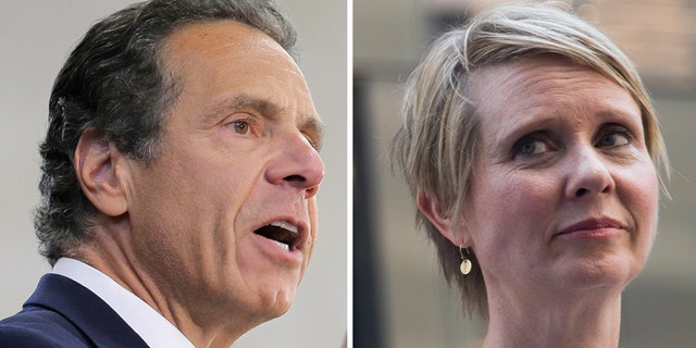 Cuomo was criticized by Cynthia Nixon, who said Cuomo was trying to sound like a progressive.