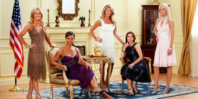 """The cast of Bravo's """"The Real Housewives of D.C."""""""