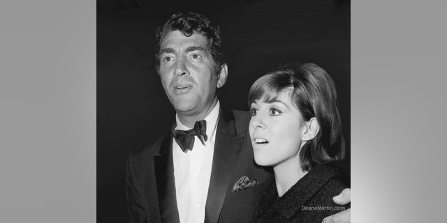 Dean Martin with his daughter Deana.
