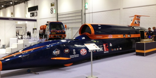 The Bloodhound, in contention for world's fastest car, is meant to travel at 1,000 miles per hour –  in spite of weighing more than 7 tons.