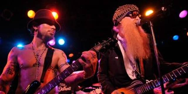 Billy Gibbons, right, of ZZ Top. (Charles Gallay / WireImage)