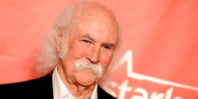 In this Feb. 6, 2015 file photo, David Crosby arrives at the 2015 MusiCares Person of the Year event at the Los Angeles Convention Center in Los Angeles.