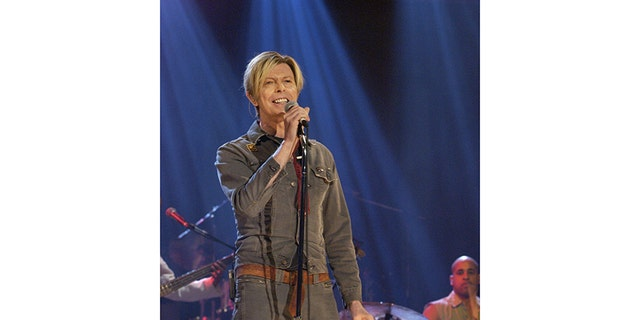 David Bowie kept on singing until he passed away from cancer.